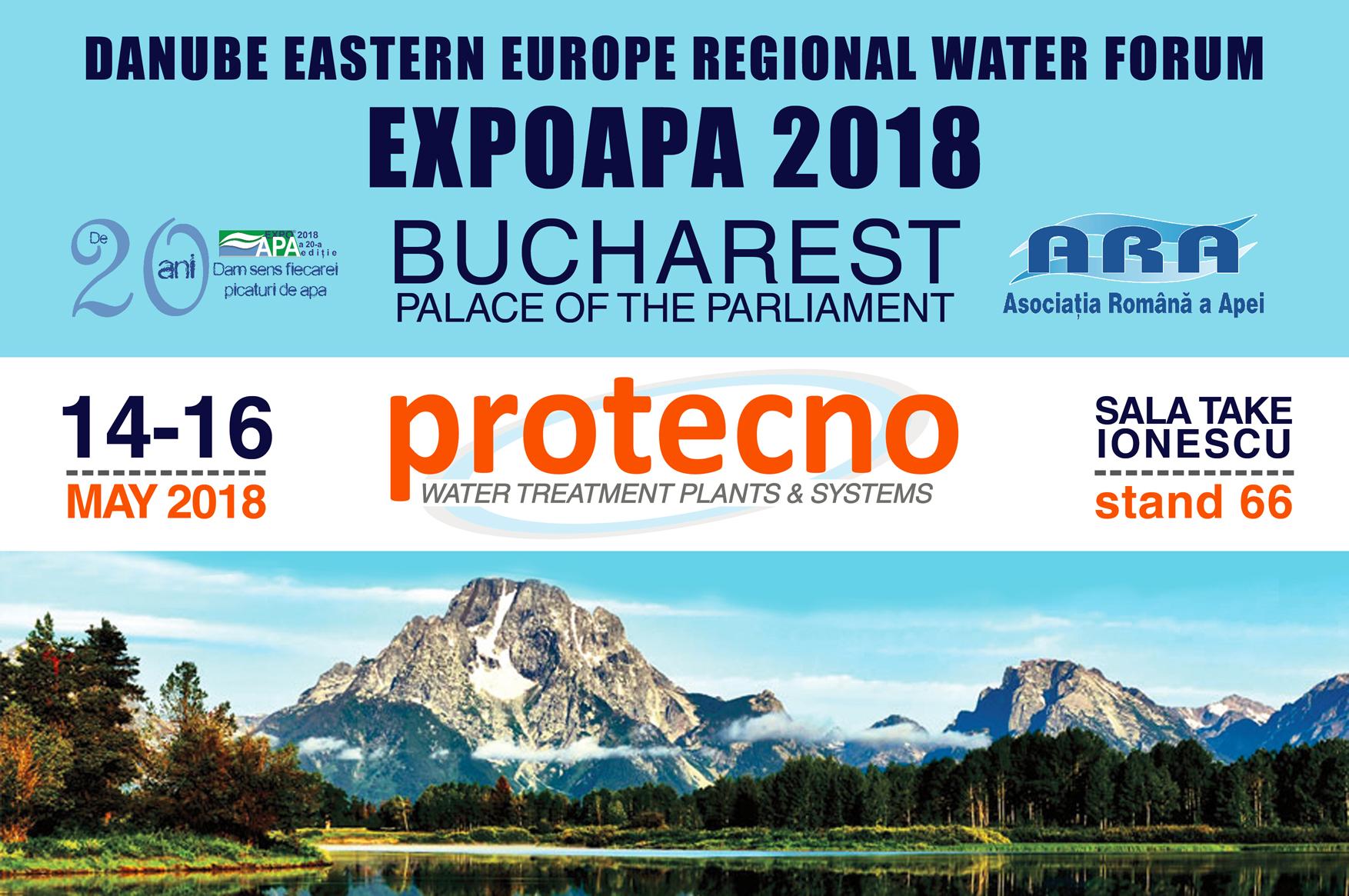 EXPOAPA 2018! 14-16 Maggio, Bucarest.