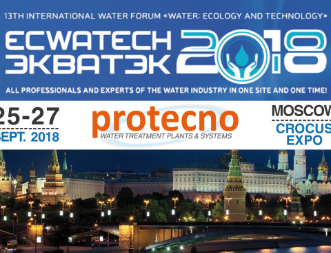 ECWATECH 2018! 25-27 Settembre, MOSCA