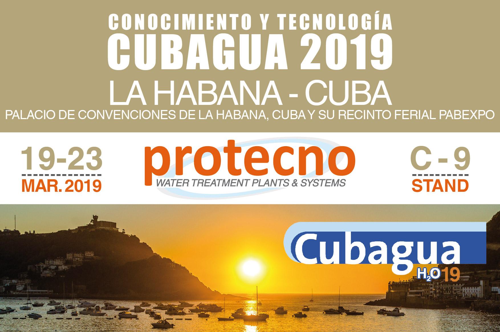 CUBAGUA 2019! MARCH 19-23, LA HABANA.