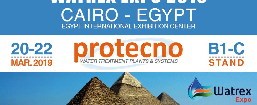 WATREX EXPO 2019! MARCH 20-22, CAIRO.