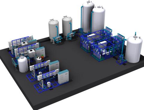 Ultrafiltration, Reverse Osmosis & Media Filtration